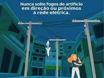 COELBA alerta: cuidados especiais com a rede elétrica nas festas de Ano Novo