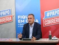 Rui Costa confirma segunda onda da Covid-19 na Bahia e faz apelo aos jovens baianos