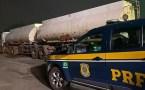 Sindicato parabeniza PRF por apreensão de cargas ilegais de etanol na Bahia