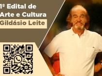 Dia Municipal da Cultura: Produções do Edital Gildásio Leite iniciam divulgações