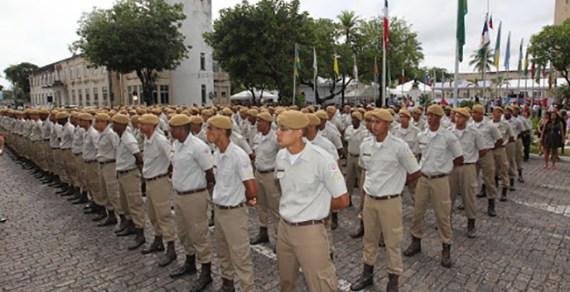 Rui anuncia mudanças no fluxo de carreira da PM: 1.000 soldados serão convocados