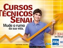 SENAI Bahia abre inscrições com mais de 500 bolsas de estudo para cursos técnicos