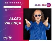 Teatro Bradesco anuncia show gratuito de Alceu Valença nesta sexta, 25, às 20 horas