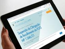Caixa divulga orientações a empregadores que optaram em suspender FGTS