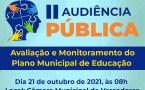 Plano Municipal de Educação prorroga inscrições para Audiência Pública
