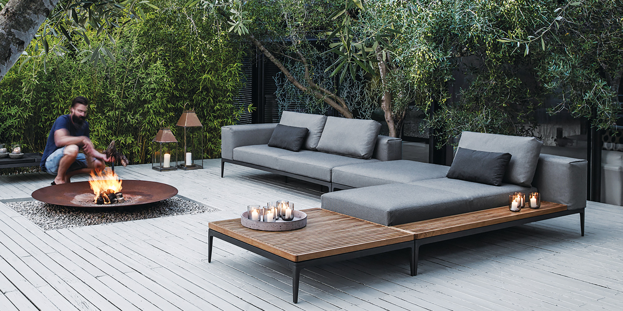 Modern Outdoor Furniture - Down to Earth Living on Designer Outdoor Living  id=90688