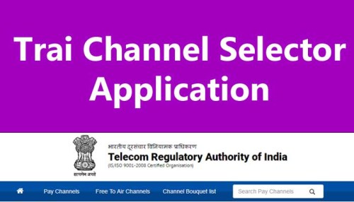 How To Use Trai Channel Selector Application In Hindi