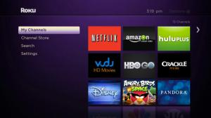 Roku screen
