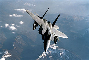 F15 Eagle with no windshield Wipers