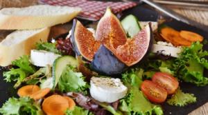 Fruits, veggies, salad