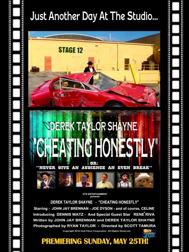 """Poster for the DTS Entertainment Comedy Film, """"Cheating Honestly"""""""""""
