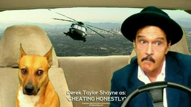 "Lobby Card for the DTS Entertainment Comedy Film, ""Cheating Honestly"""