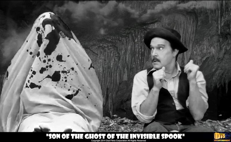 """Lobby Card for the DTS Entertainment Comedy Film, """"Son of the Ghost of the Invisible Spook"""""""