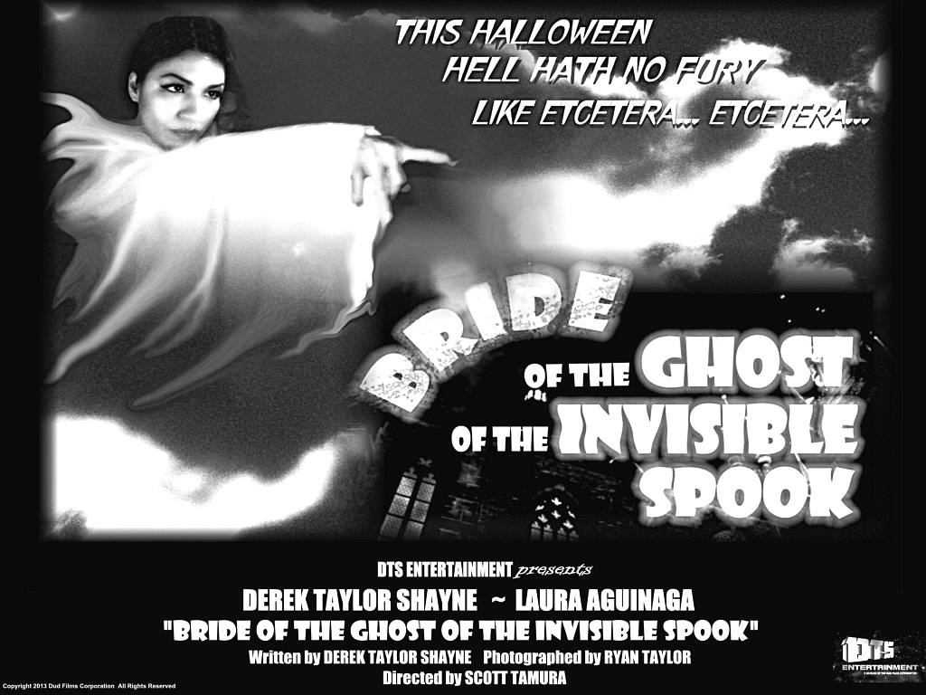"""Lobby Card for the DTS Entertainment Comedy Film, """"Bride of the Ghost of the Invisible Spook"""""""""""