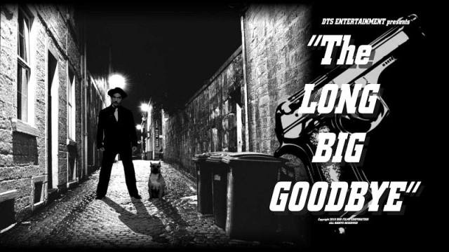 "Lobby Card for the DTS Entertainment Comedy Film, ""The Long Big Goodbye"""