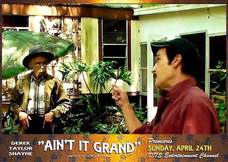 "Lobby Card for the DTS Entertainment Comedy Film, ""Ain't It Grand"""