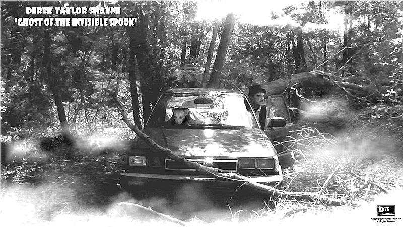 """Lobby Card for the DTS Entertainment Comedy Film, """"Ghost of the Invisible Spook"""""""