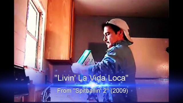 """Derek Taylor Shayne as: """"Livin' La Vida Loca"""" from """"Spitballin' 2"""""""