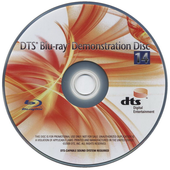 DTS Blu-Ray Demonstration Disc 14
