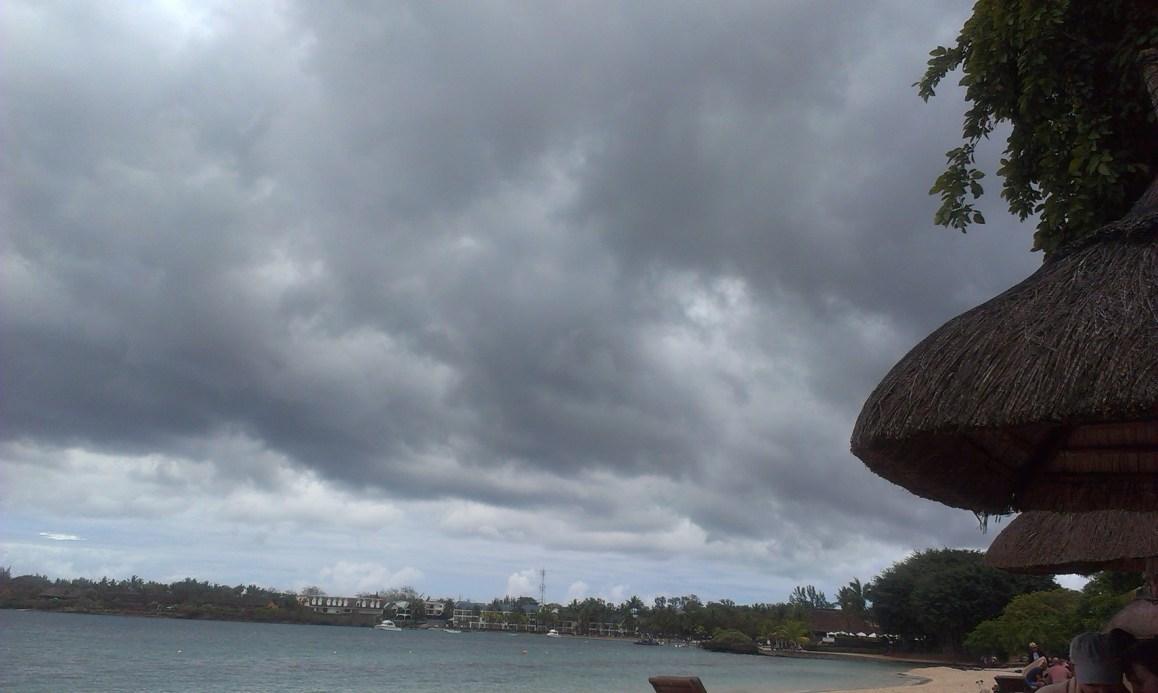 Dunkle Wolken waren leider sehr oft unsere Begleiter