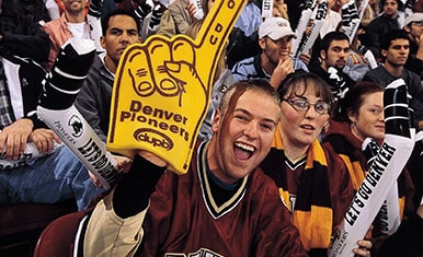Image result for university of denver fans