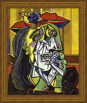 Weeping Woman by Picasso