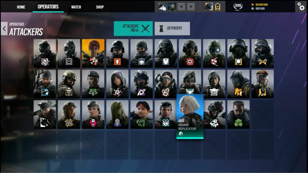 New R6 Siege UI
