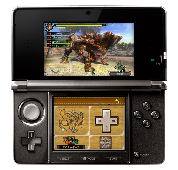 TGS 2011: Tokyo Game Show Attendees Report that Monster Hunter 3G on 3DS Looks Worse than on Portable 3rd on PSP. Difficulty Lowered. Circle Pad Slippery