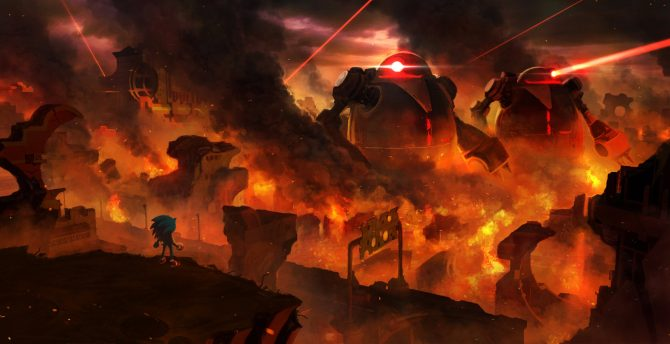 Sonic Forces on Nintendo Switch: Devs Talk Development, Challenges, Resolution, Frame Rate and More