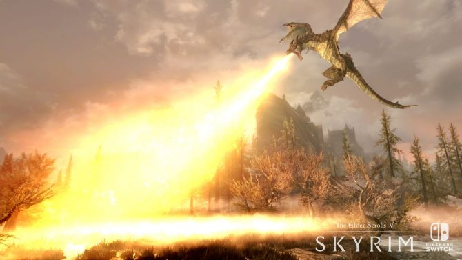 The Elder Scrolls V: Skyrim Switch Preview -- Nintendo Is Bringing Back an Arrow to the Knee This Holiday