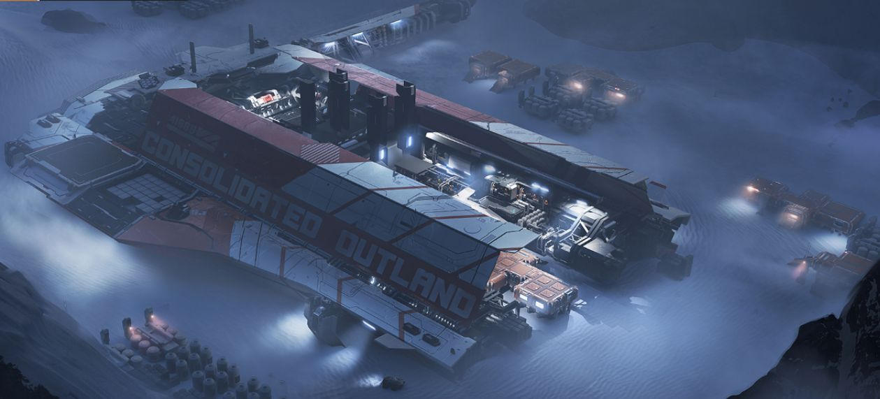 Star Citizen Gets Its First Massive Colony Ship The Pioneer