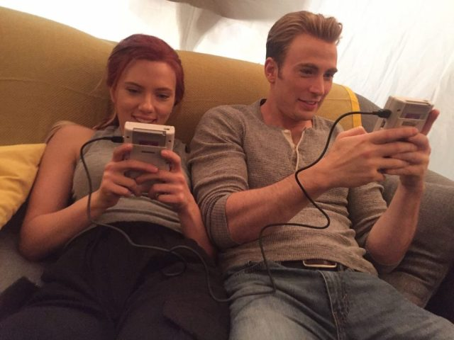 Avengers: Endgame Photo Shows Scarlett Johansson and Chris Evans