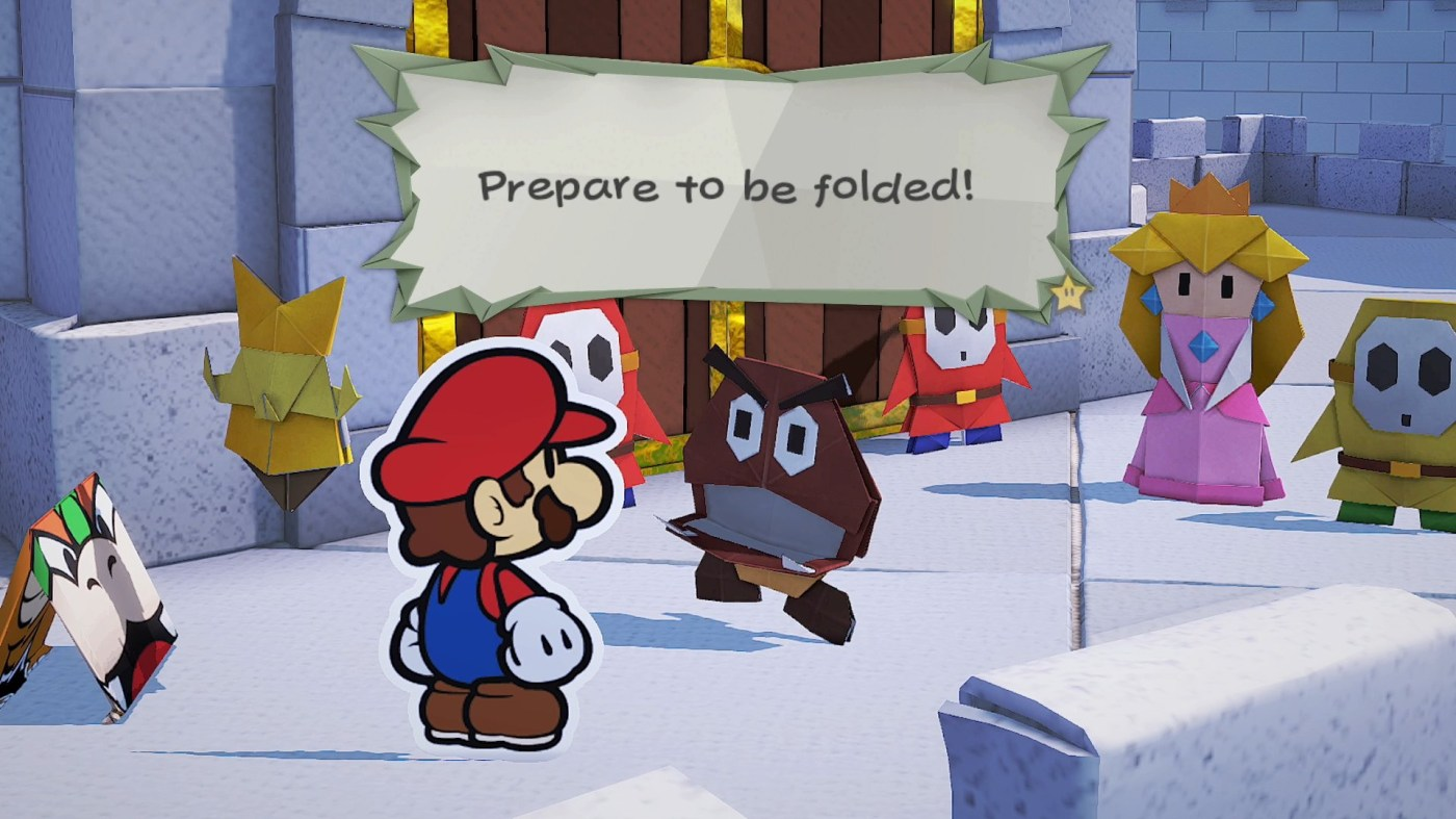 Paper Mario: The Origami King Revealed, Releases on Switch in July