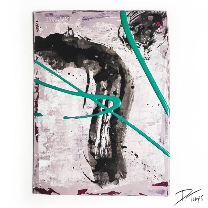 16 drops of rain painting and poetry by duane toops