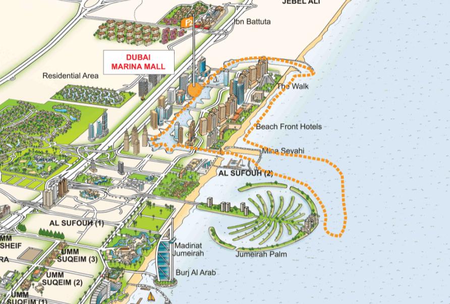 Dubai Ferry Routes
