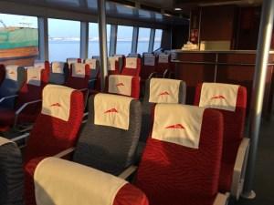 dubai ferry interior