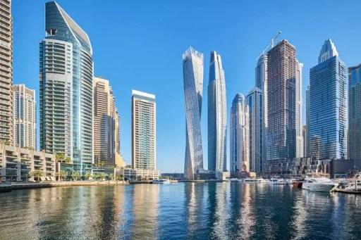 Dubai Marina - Hotels, Attractions, Shopping, Metro, Map