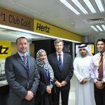 Hertz UAE Club Gold, Dubai Airport