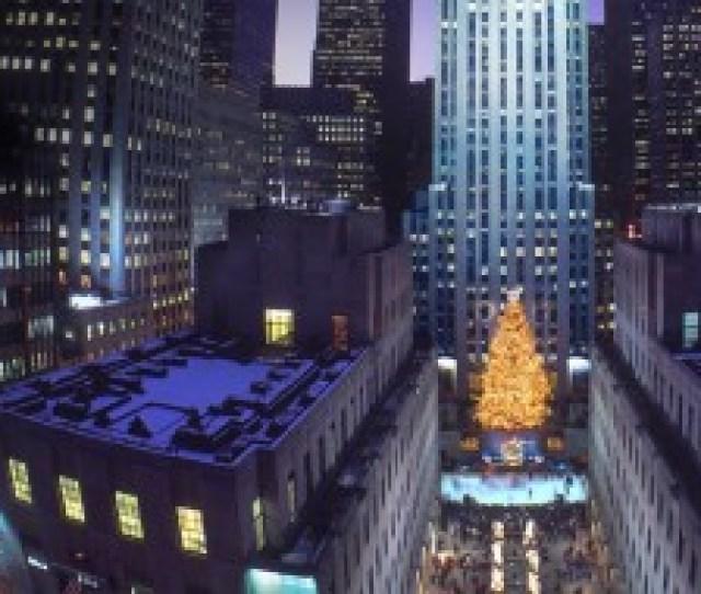 Rockefeller Center Christmas Tree New York