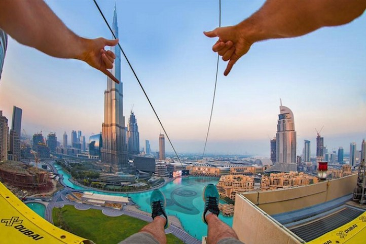 Image result for Dubai Zipline