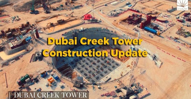 Construction update Dubai Harbour Creek Tower