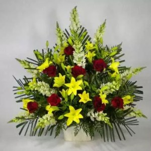 cheerful get well soon flowers