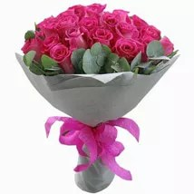 Pleasing Pink Roses Bouquet
