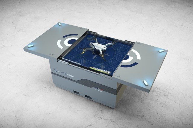Azur Drones Unveils Skeyetech Drone-In-A-Box Solution for Surveillance in the Middle East