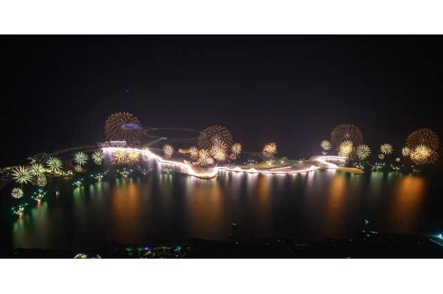 Ras Al Khaimah marvels the world with spectacular New Year's Eve Gala that clinches 2 GUINNESS WORLD RECORDS titles