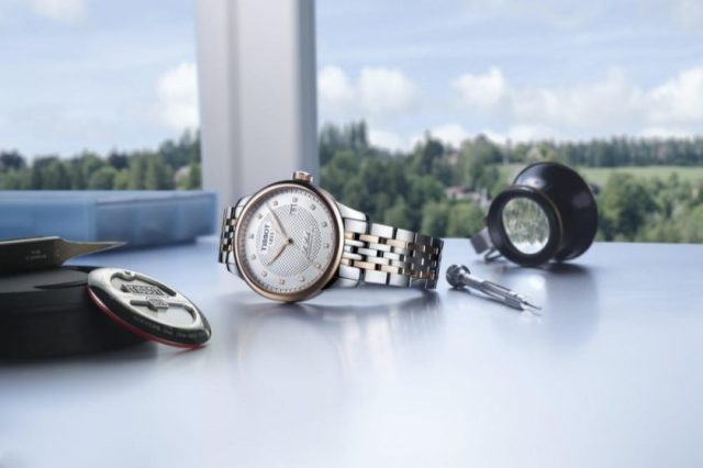 Tissot Le LocleThe discreet elegance of diamonds