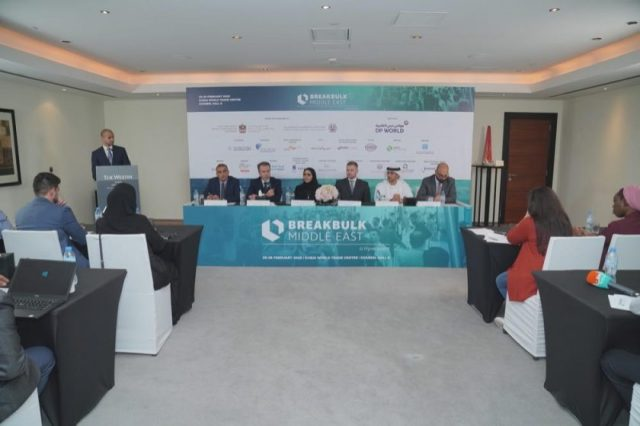 Industry experts unite at presser to under line significance of Break bulk Middle East