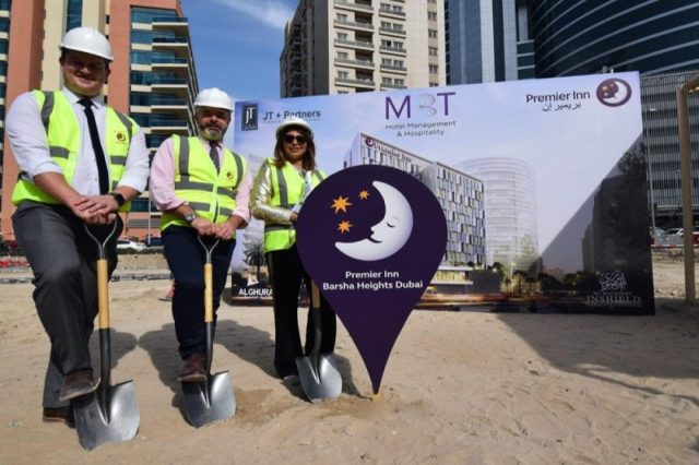 GROUND HAS BROKEN FOR NEW BARSHA HEIGHTS HOTEL