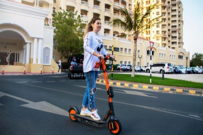 Al Hamra adds to its destination enhancement strategy with the launch of Circ e-scooters