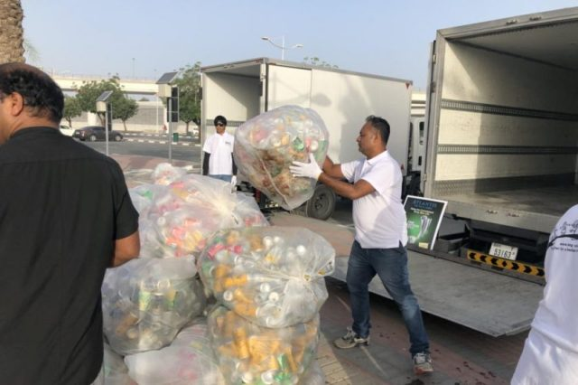 EEG drive stops 5,235kg of aluminum from going to UAE landfills; more than 180 entities join Can Collection Day